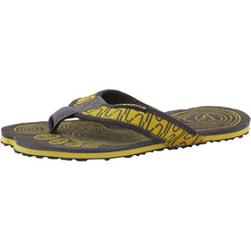 La Sportiva Swing Sandalias Hombre, black/yellow